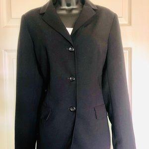 New York & Company Black 3-Button Blazer